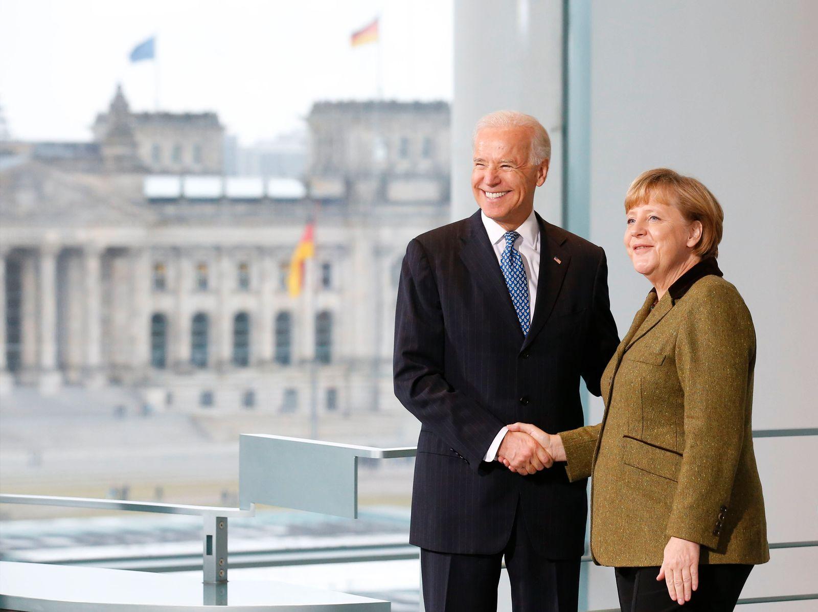 Merkel / Biden