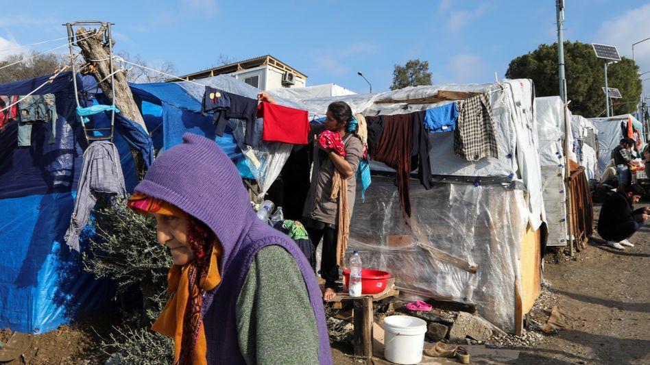 """Flüchtlingslager auf Lesbos: Uno fordert Ende der """"miserablen"""" Bedingungen"""