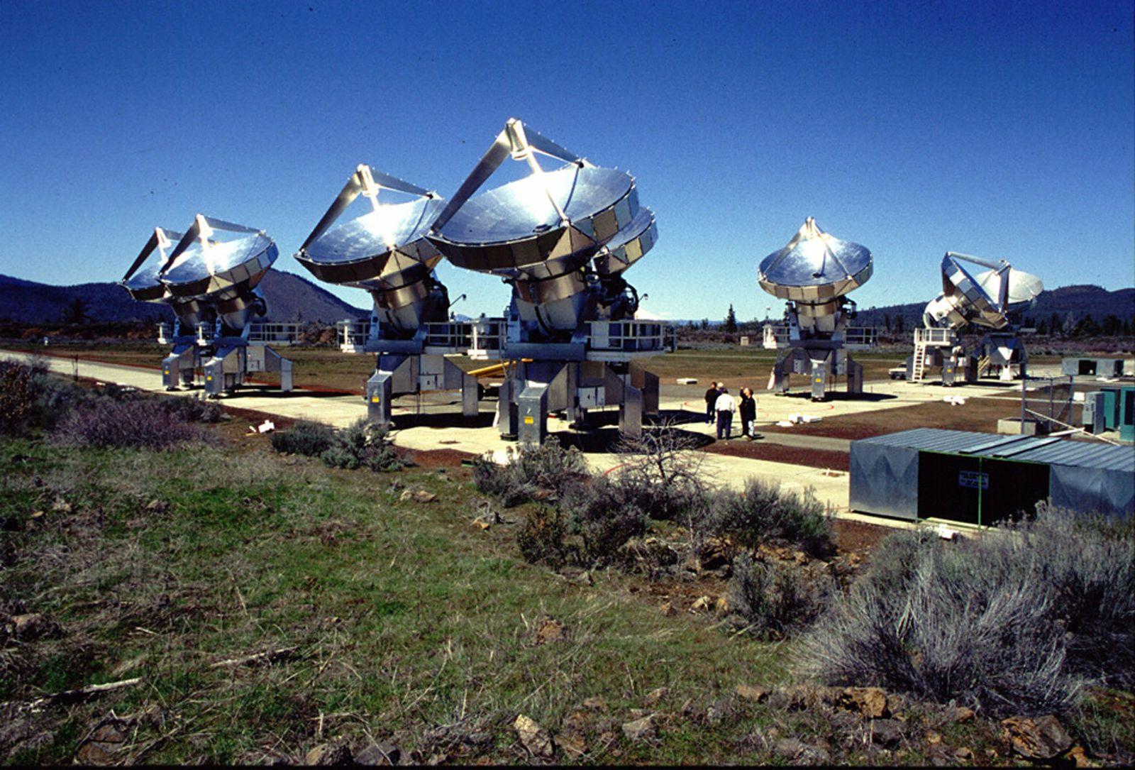 SETI / ATA Teleskop / WISSENSCHAFT