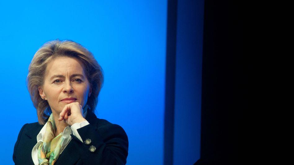 Ministerin Ursula von der Leyen: Unruhe in der Koalition