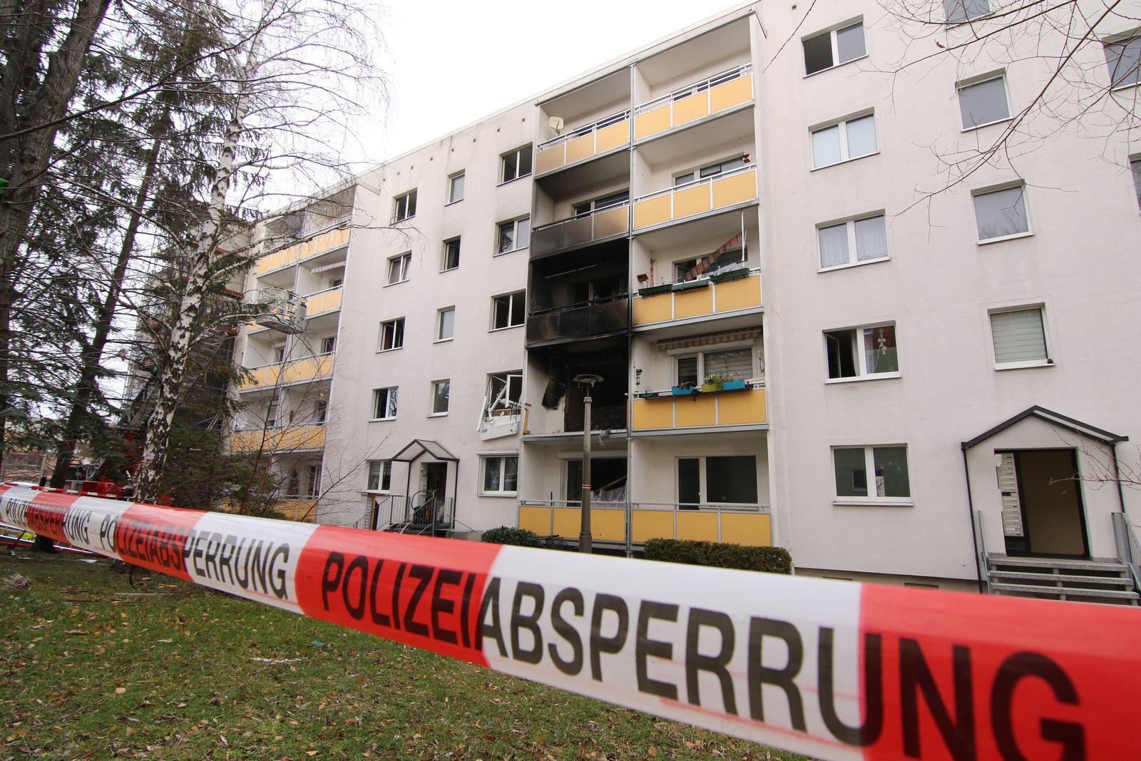 Explosion in Blankenburg