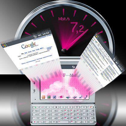 Schneller Datenfunk per HSDPA/HSUPA: Schnelleres Mobilsurfen künftig in beide Richtungen