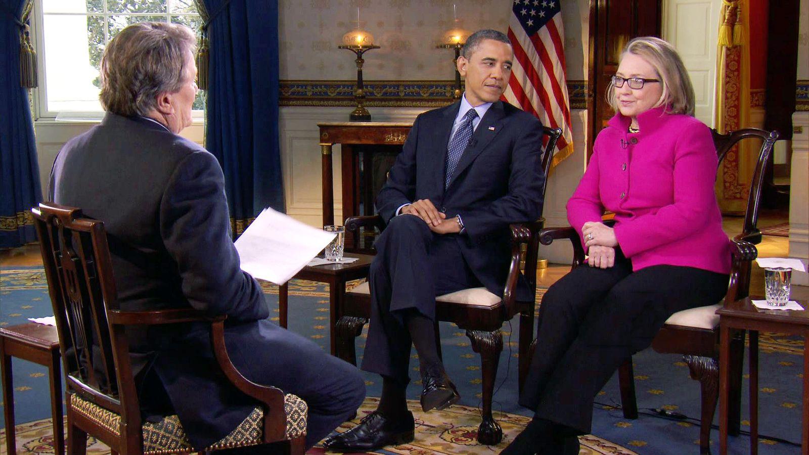 Obama/ Clinton/ CBS 60 Minutes