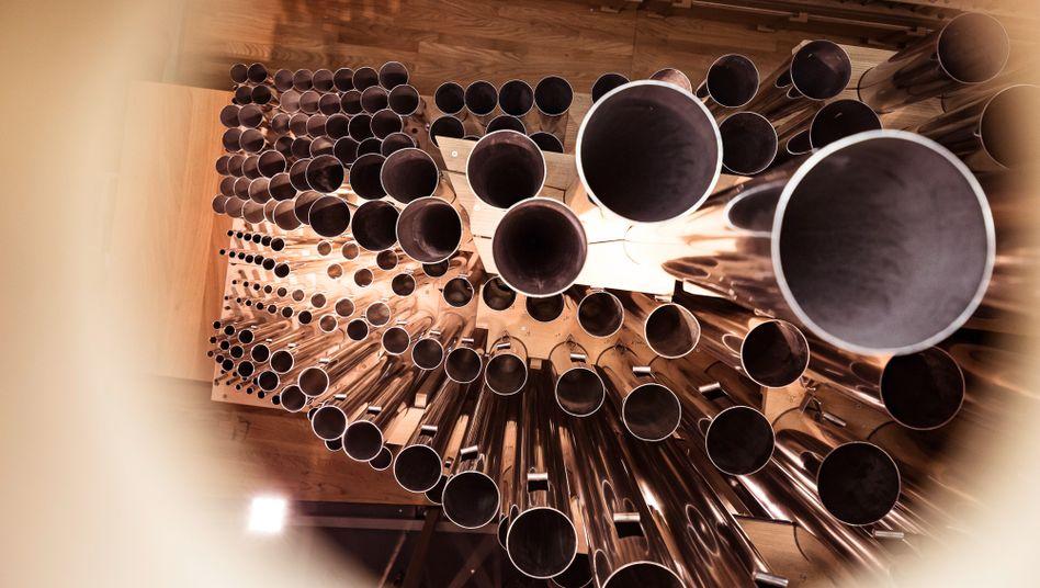 4765 Pfeifen, 25 Tonnen schwer: Die Orgel der Elbphilharmonie ist ein Koloss