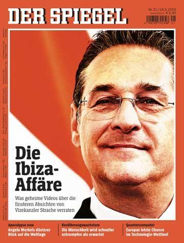 Titelbild des SPIEGEL in Österreich