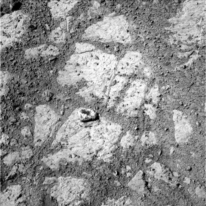 """Aufnahme von """"Pinnacle Island"""": Ungewöhnliche Zusammensetzung für Marsgestein"""