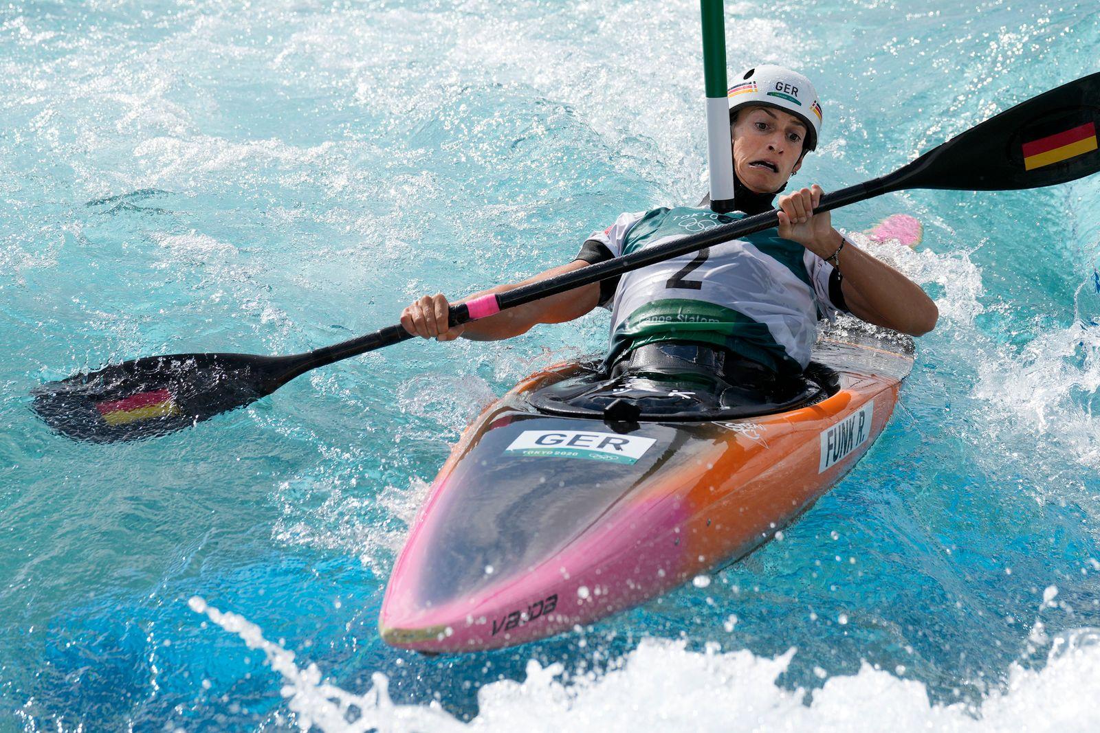 Tokyo Olympics Canoe Slalom