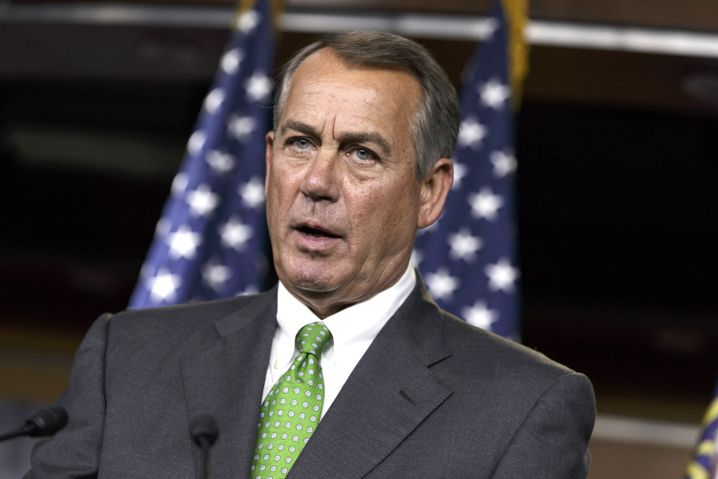 Republikaner-Häuptling Boehner in Washington
