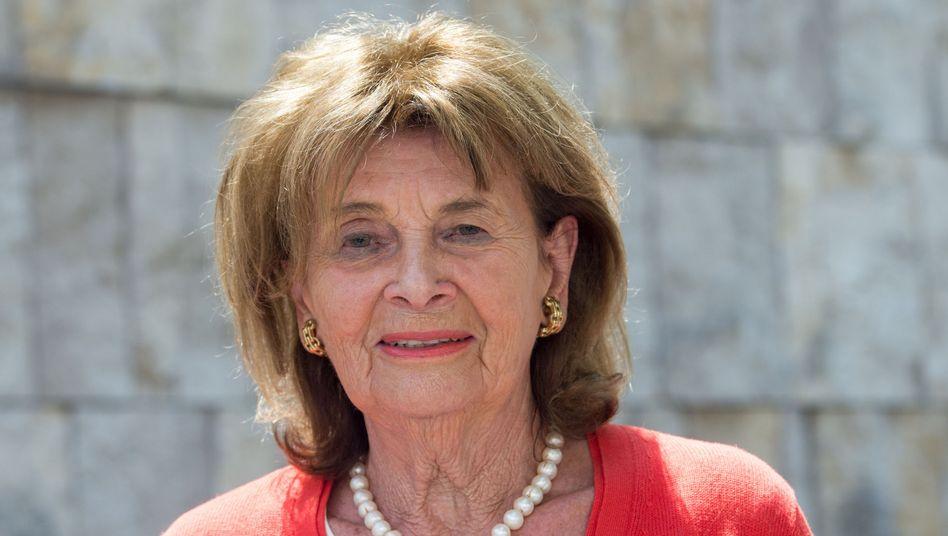 """Präsidentin der Israelitischen Kultusgemeinde Knobloch: """"Hervorragendes Engagement"""""""