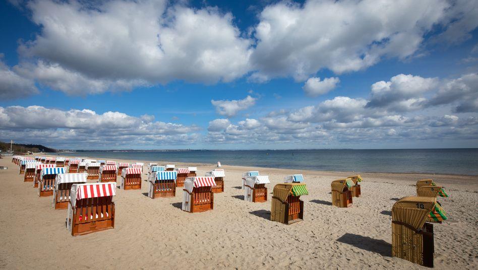 Timmendorfer Strand bei Lübeck: In Schleswig-Holstein sind die Inzidenzwerte derzeit besonders niedrig