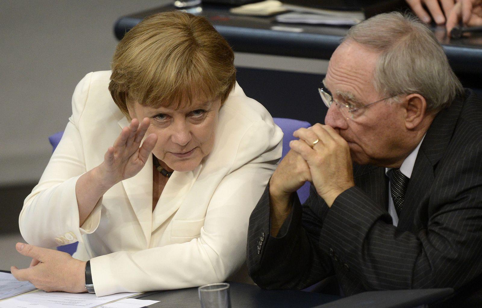 Merkel / Schäuble