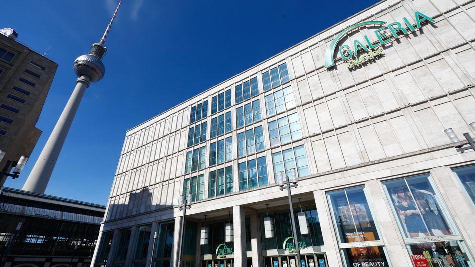 Geschlossene Kaufhof-Filiale in Berlin: Der Lockdown setzt dem Konzern schwer zu