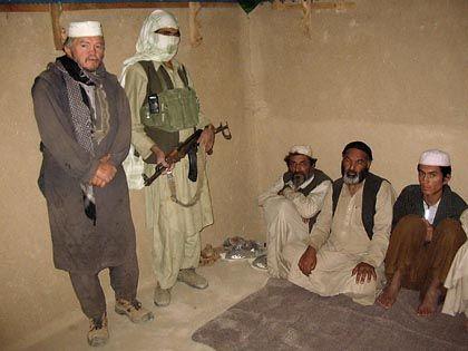 Afghanistan-Geisel Rudolf B. (auf einem Entführer-Video vom Montag): Freilassung ohne Gewalt