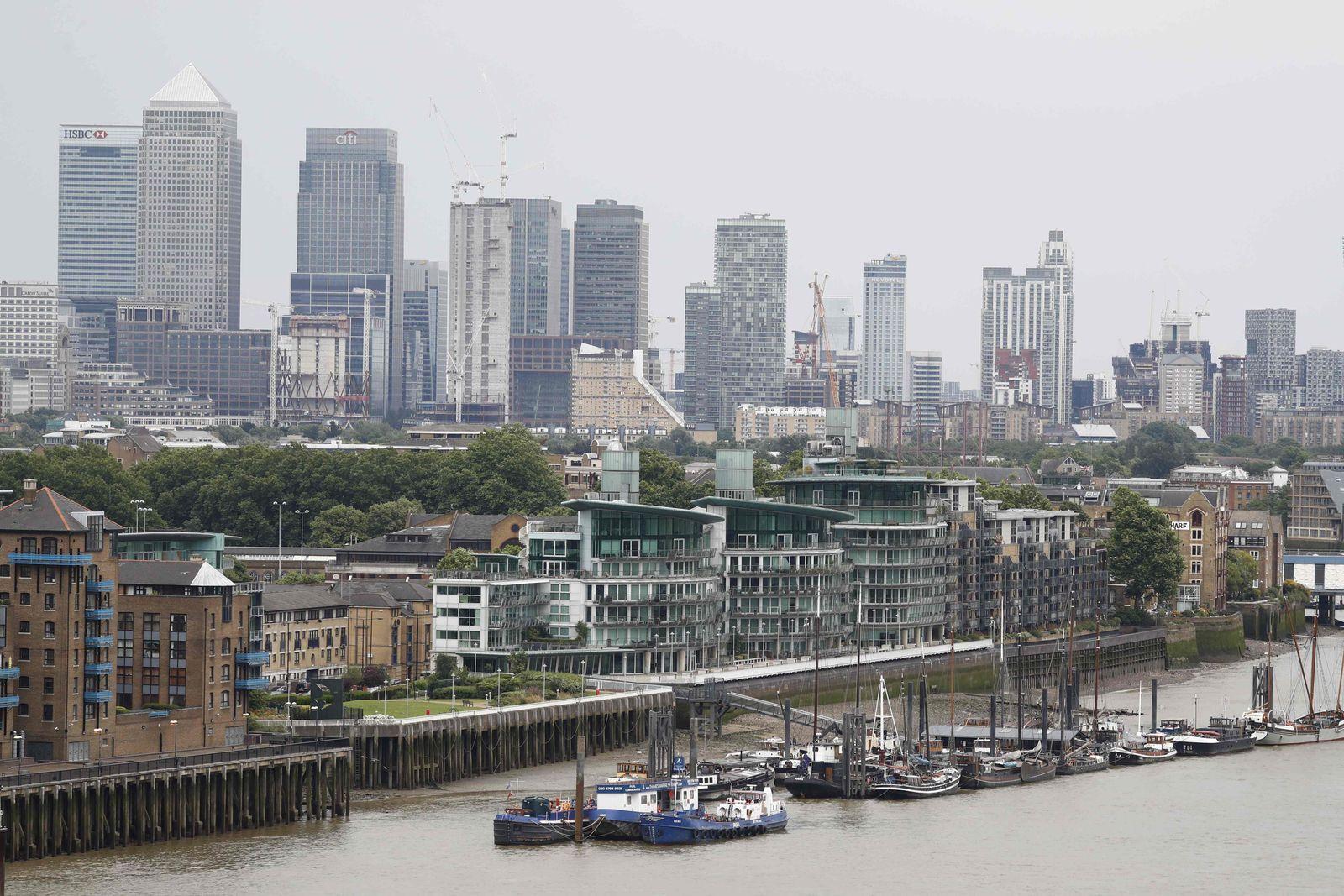 Canary Wharf / London / Brexit