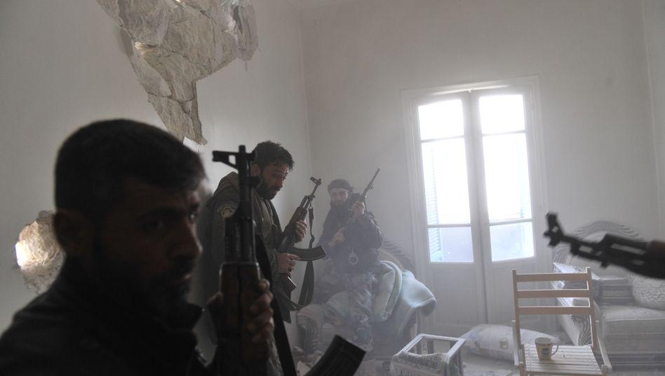 Rebellen in Aleppo: Geheimdienstinformationen an ausgewählte Gruppen