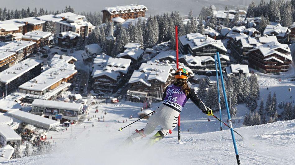 Slalom in Courchevel - statt in den USA