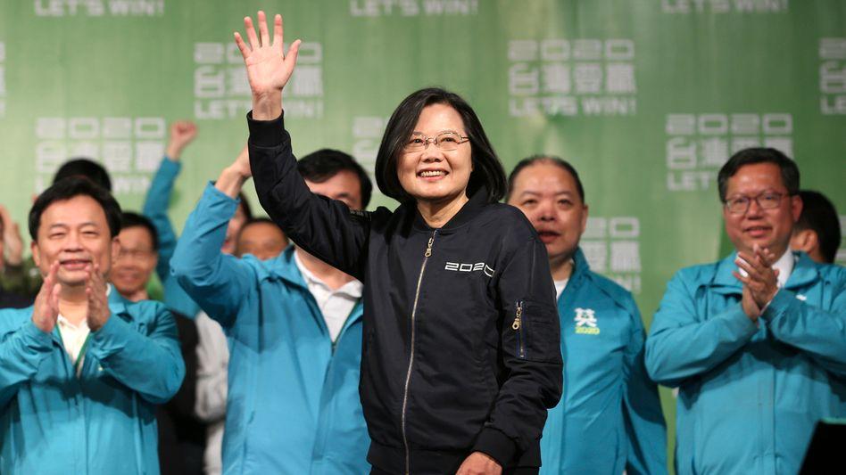 """""""Alle Länder solltenTaiwanals Partner, nicht als Problem betrachten"""": Präsidentin Tsai Ing-wen nach der Wahl"""