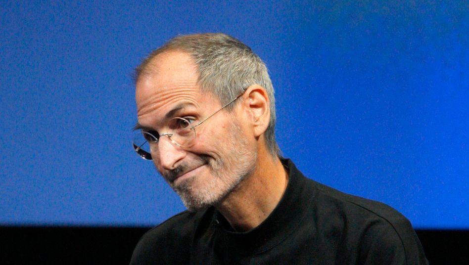 Apple-Chef Steve Jobs (2010): Absicht oder nur ein Tippfehler?