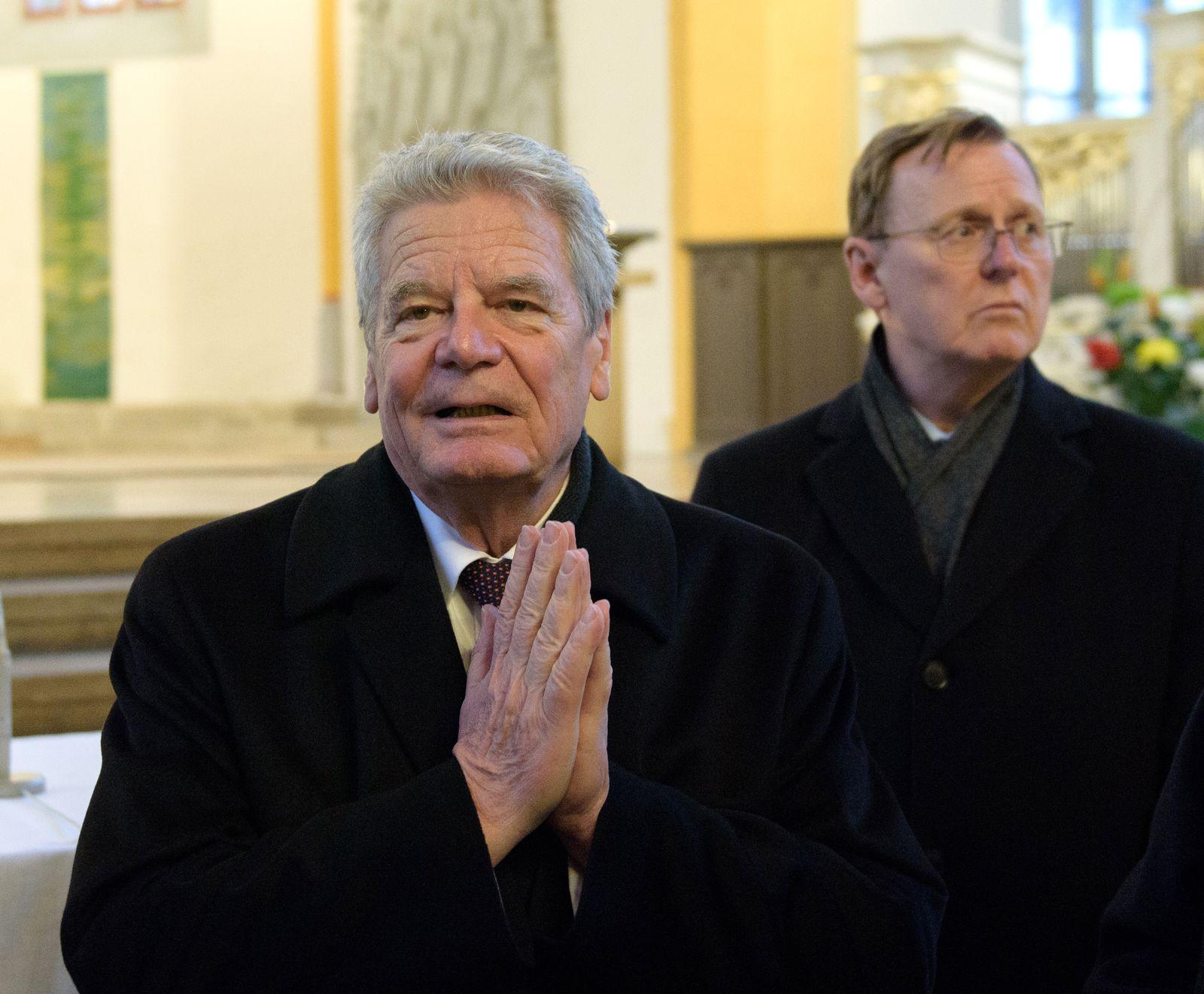 Bundespräsident Gauck in Jena