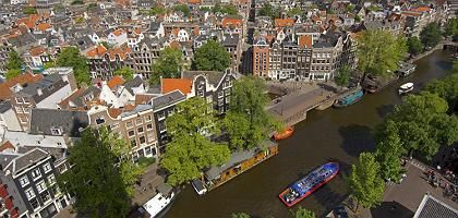 Amsterdam is going green.