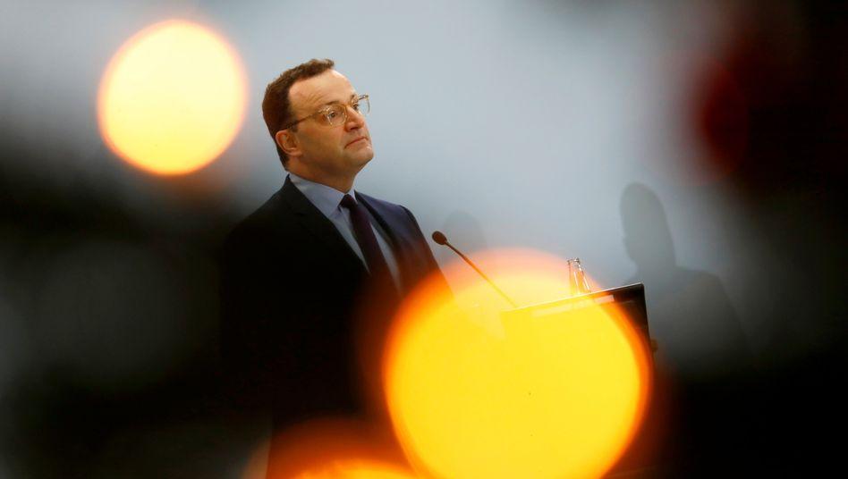 Bundesgesundheitsminister Jens Spahn (CDU) am Samstag in Berlin