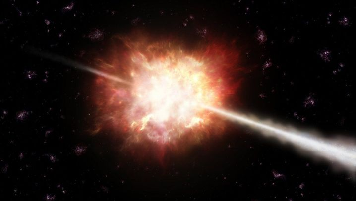 Gammablitze: Gigantische Eruptionen im All