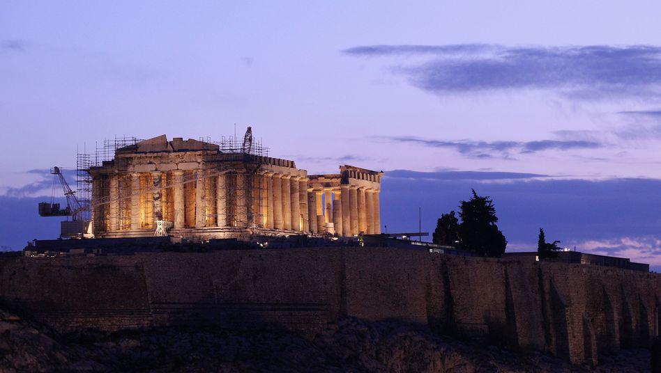 Sonnenaufgang über Athen: Trendumkehr in der Euro-Krise?