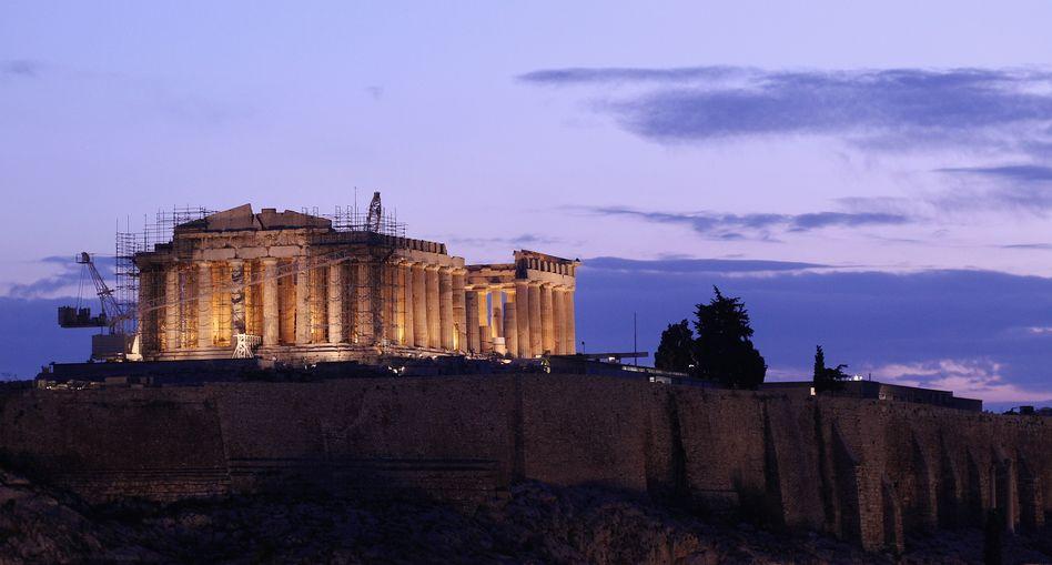 Akropolis in Athen: Mehr Verpackung als Inhalte im Sparpaket