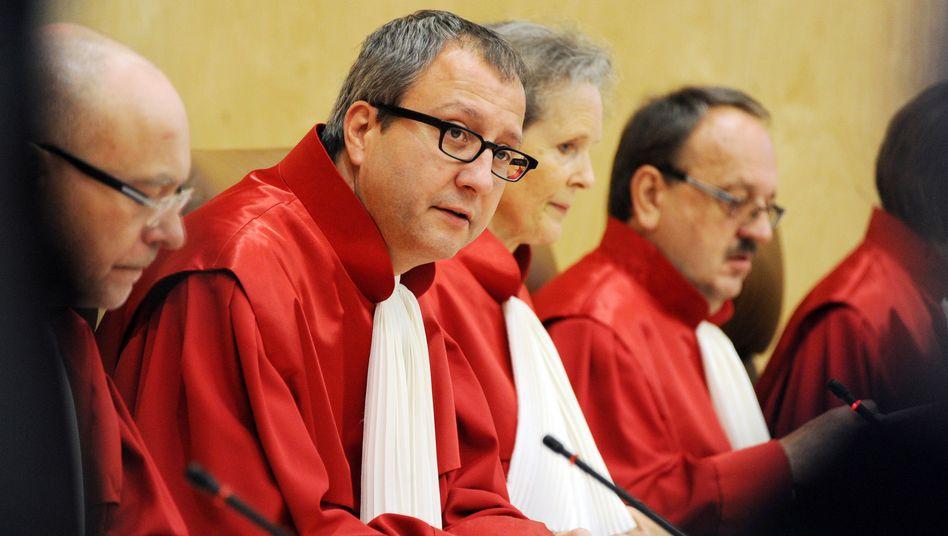 Verfassungsgerichtspräsident Voßkuhle in Karlsruhe: Schelte aus der Politik gewohnt