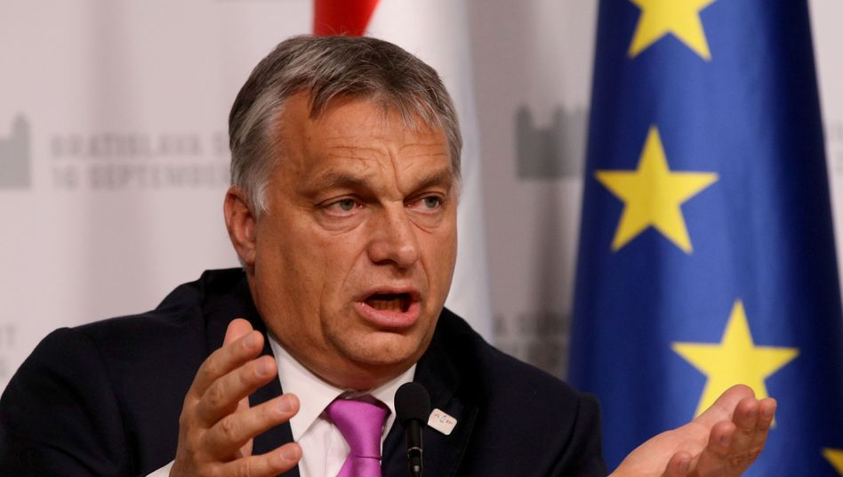 Ungarns Präsident Orbán