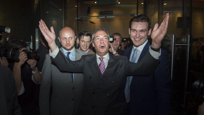 Brexit-Nacht: Die besten Bilder
