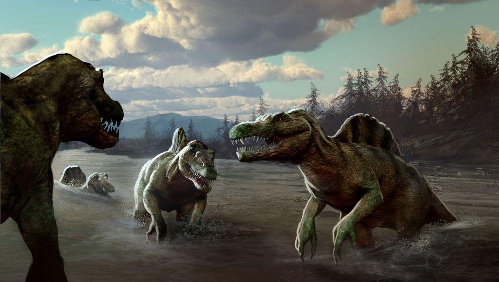 Spinosaurus: Leben am Ufer