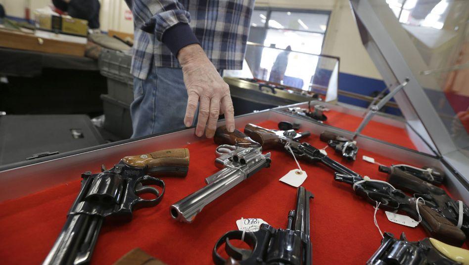 Bald an noch mehr US-Unis erlaubt: Schusswaffen