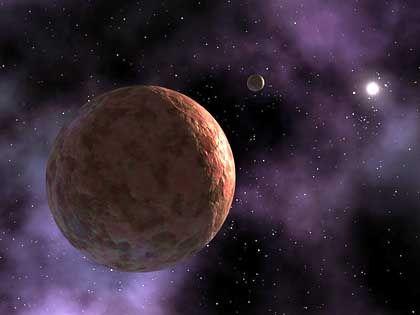 Planetoid Sedna (Computersimulation): Rätselhafter Orbit