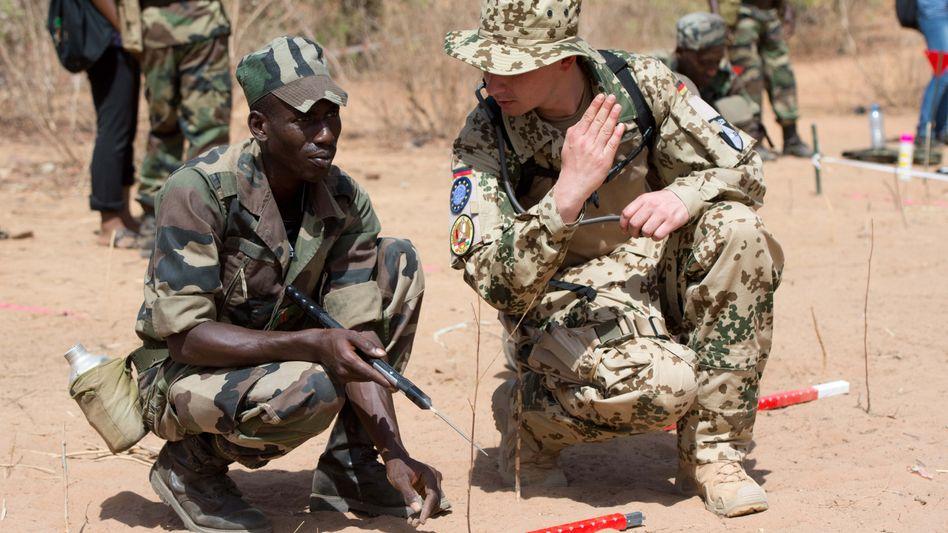 Deutscher Ausbilder in Mali: Mehr Personal soll folgen