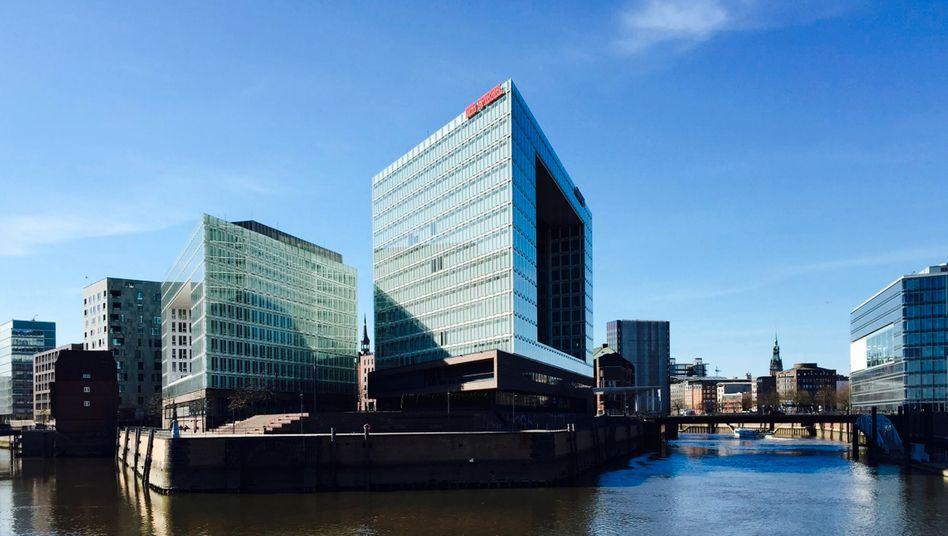 Das Verlagsgebäude des SPIEGEL in Hamburg