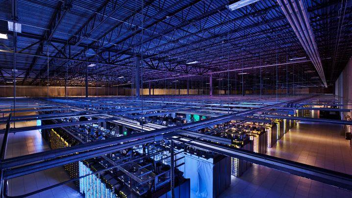 Bilder aus Rechenzentren: Googles Schatzkammern