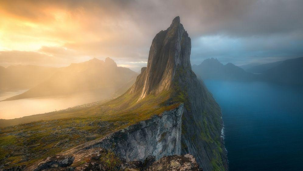 """Segla-Gipfel auf Senja: """"An diesem Morgen öffnete sich der Himmel für einen Moment"""""""