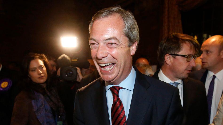 Ukip-Chef Nigel Farage: Auf der Suche nach Partnern im Europaparlament