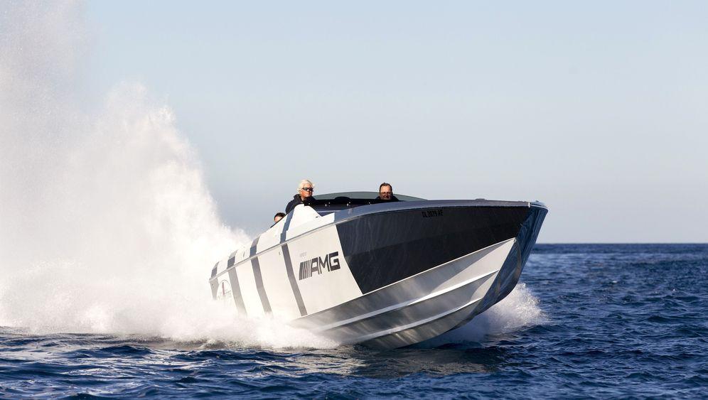 AMG-Speedboat: Vollgas über die Wellen