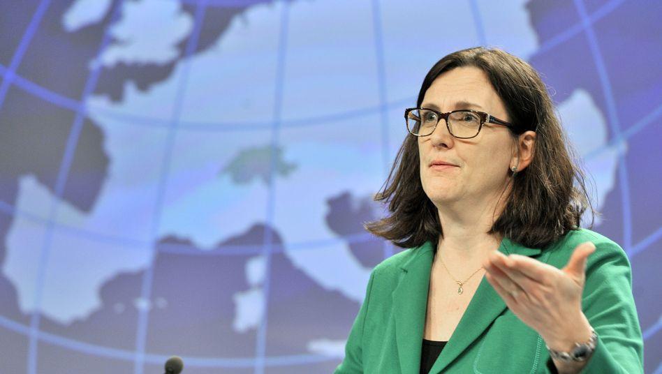 """EU-Handelskommissarin Malmström: """"Die deutsche Wirtschaft profitiert wahrscheinlich am meisten"""""""