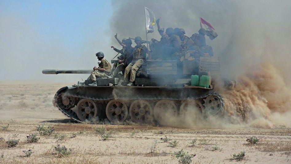 Irakische Offensive auf die IS-Hochburg Tall Afar am 20. August: »Ergebt euch oder sterbt«