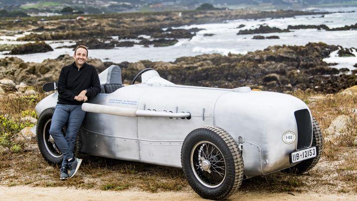 Mercedes-Silberpfeil: Knattermann, fahr du voran