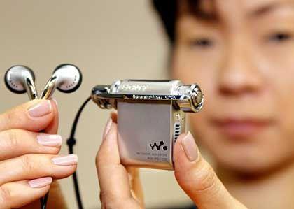 MP3-Player (von Sony): Geschickte Psychoakustik, aber es fehlen Informationen