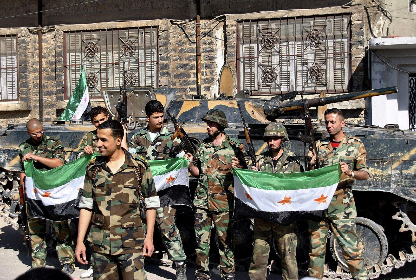 syrien soldaten überläufer