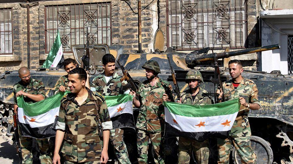 """Syrische Rebellen: """"Wir müssen weiter gehen"""""""