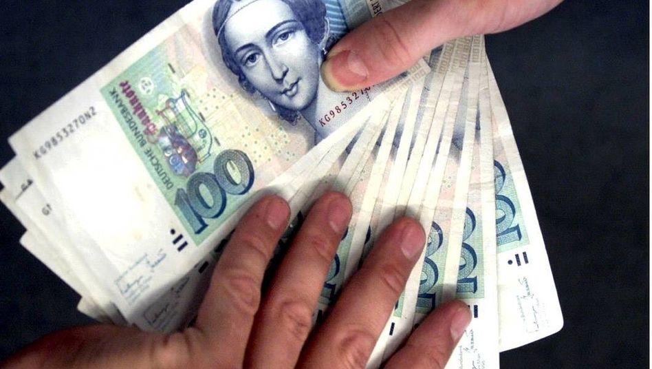 Angst Vor Euro Crash Die Fatalen Irrtumer Der D Mark Nostalgiker