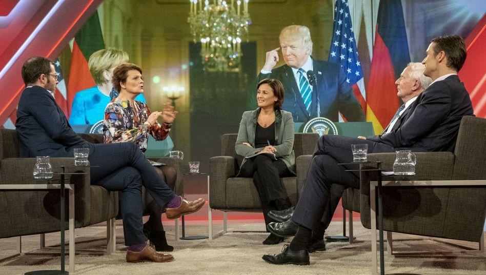"""Maischberger-Talkrunde: """"Nach den Kongresswahlen: Was macht Trump, wie reagiert die Welt?"""""""