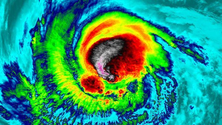 """Hurrikan: Gefahr durch """"Irma"""""""