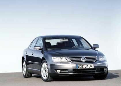 VW Phaeton: Das Modell mit den Adleraugen
